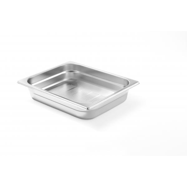 Tava perforata Gastronorm GN 2/3 65 mm 5 lt - gama Kitchen Line, otel inoxidabil