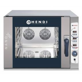 Cuptor combi NANO, electric, control electronic, 5 tavi x GN 1/1, putere 13,8 kW