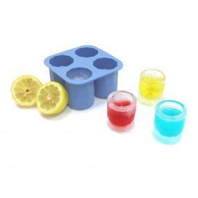 Forma din silicon durabil pentru cuburi de gheata tip pahar pentru shot, 12.2x12.2x(H)6 cm, potrivita si pentru uz profesional