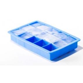 Forma din silicon durabil pentru cuburi mici de gheata, 19x12x(H)3.5 cm, potrivita si pentru uz profesional
