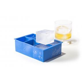 Forma din silicon durabil pentru cuburi de gheata XL, 5x5x(H)5 cm, potrivita si pentru uz profesional