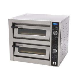 Cuptor electric deluxe dublu 4+4 pizza 30 cm, 400V