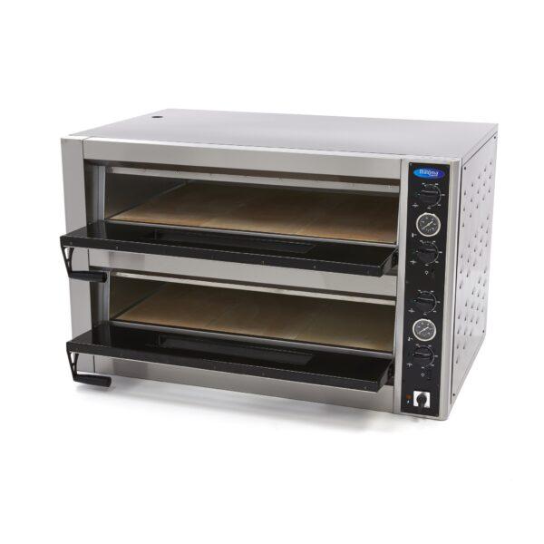 Cuptor electric deluxe dublu 6+6 pizza 30 cm, 400V