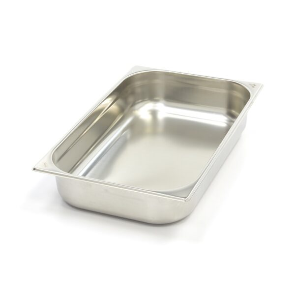Vascheta gastronom din otel inoxidabil 1/1 GN, 100 mm, 530x325 mm