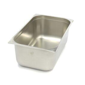 Vascheta gastronom din otel inoxidabil 1/1 GN, 200 mm, 530x325 mm