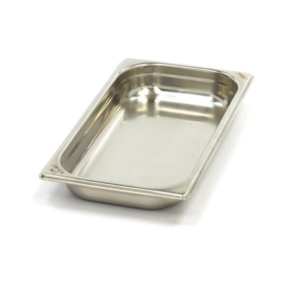 Vascheta gastronom din otel inoxidabil 1/3 GN, 40 mm, 325x176 mm
