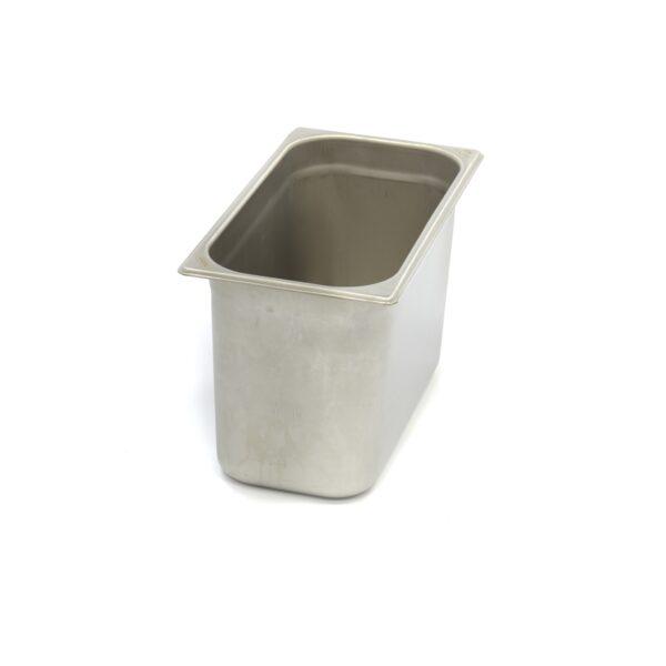 Vascheta gastronom din otel inoxidabil 1/3 GN, 200 mm, 325x176 mm