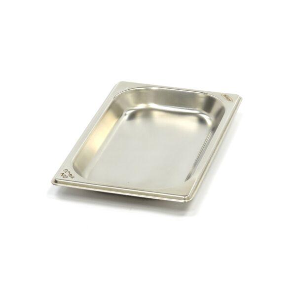 Vascheta gastronom din otel inoxidabil 1/4 GN, 20 mm, 265x162 mm