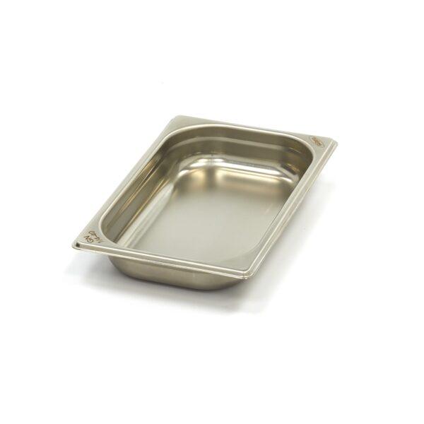 Vascheta gastronom din otel inoxidabil 1/4 GN, 40 mm, 265x162 mm