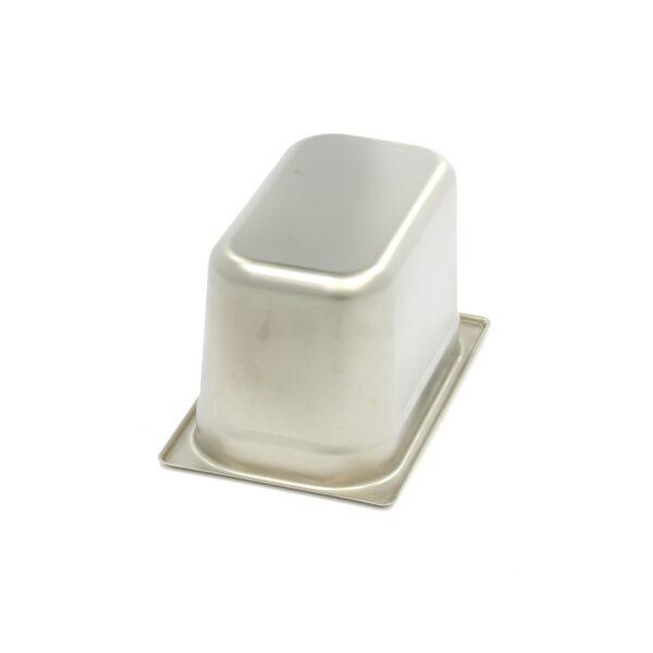 Vascheta gastronom din otel inoxidabil 1/4 GN, 150 mm, 265x162 mm