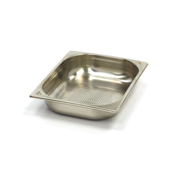 Vascheta gastronom perforata din otel inoxidabil 1/2 GN, 65 mm, 325x265 mm