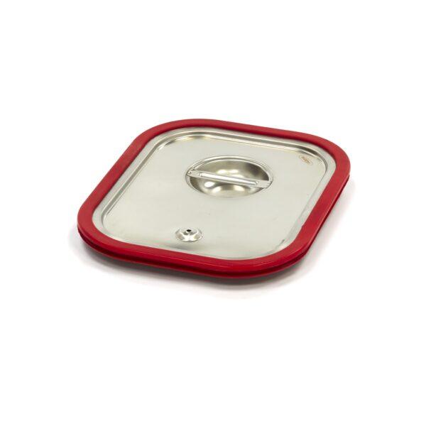Capac gastronom cu banda siliconata 1/2 GN, 325 x 265 mm