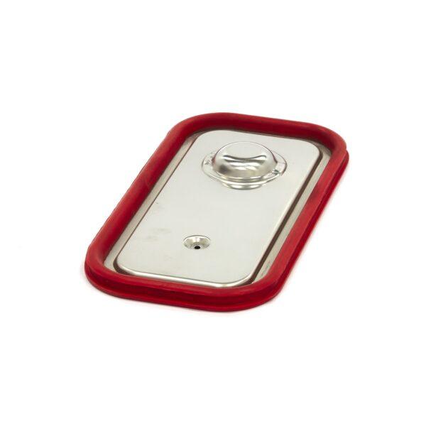 Capac gastronom cu banda siliconata 1/3 GN, 325 x 176 mm