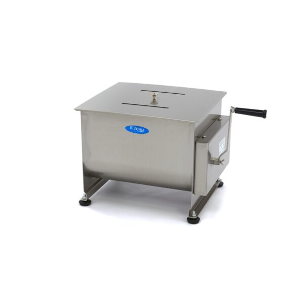 Maxima malaxor de carne manual / blender de carne 30 litri cu dublu ax