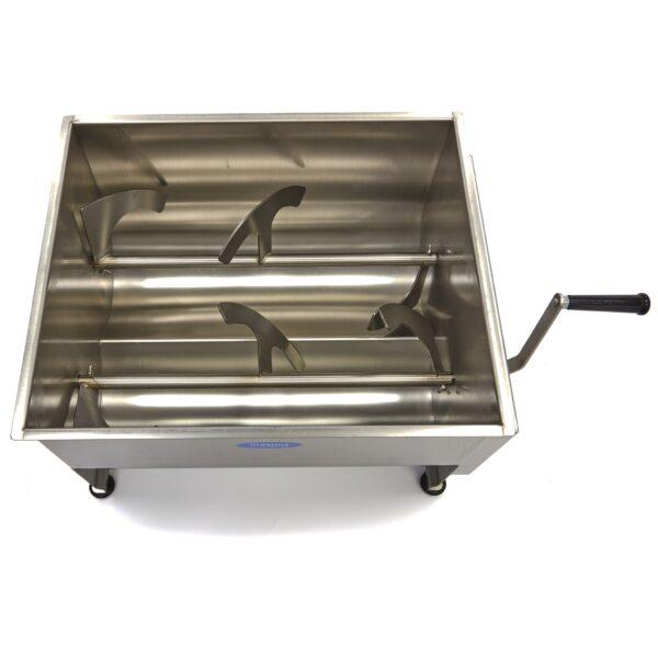 Maxima malaxor de carne manual / blender de carne 50 litri cu dublu ax