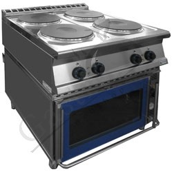 Masina de gatit electrica 4 plite cu cuptor, seria 900